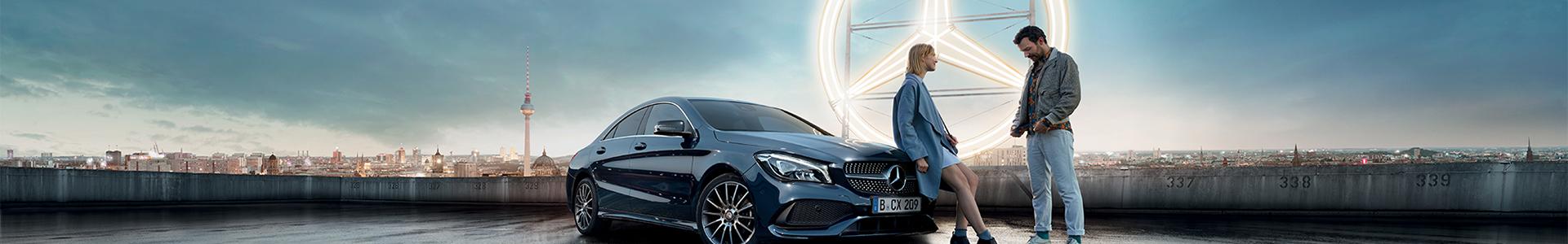 Junger Stern Mercedes Benz