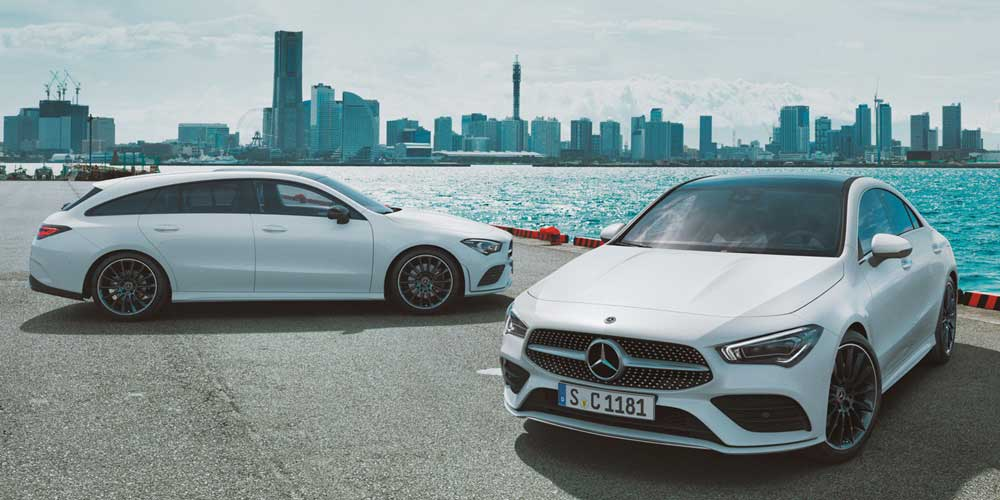 CLA Shooting Brake und Coupe
