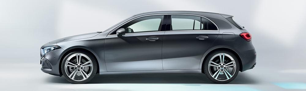 Mercedes-Benz A-Klasse im Studio