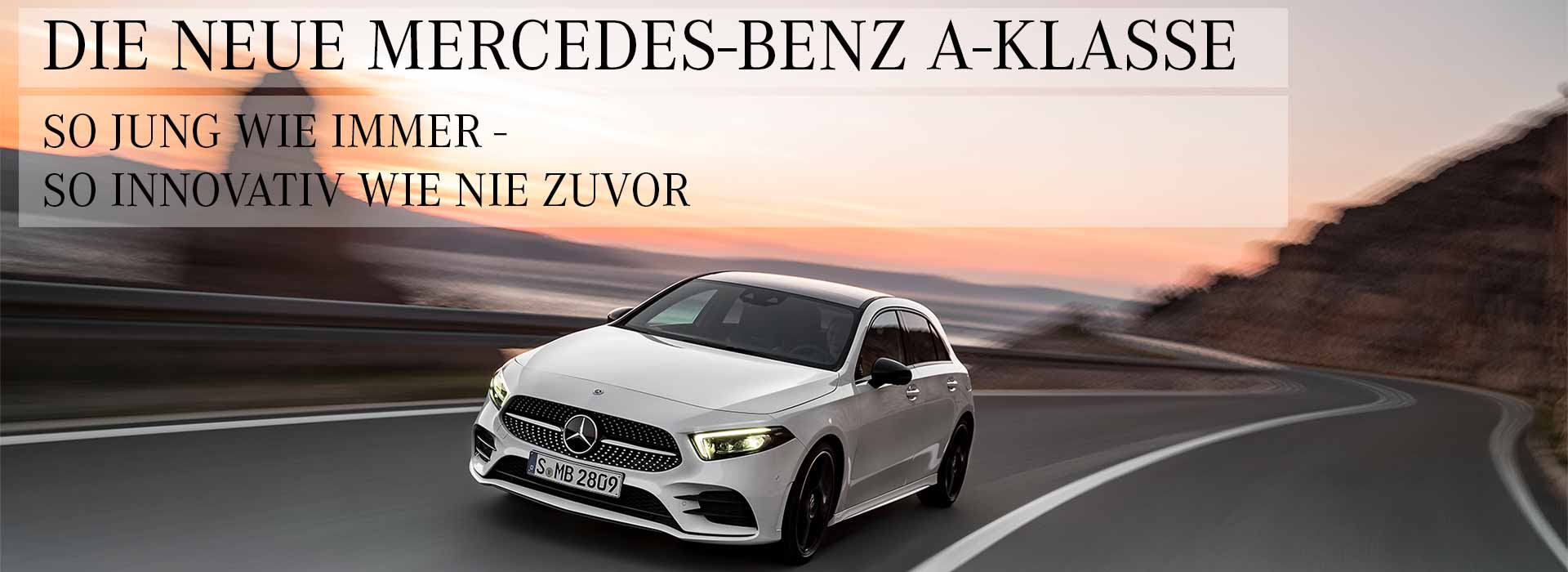 Die neue Mercedes Benz A-Klasse
