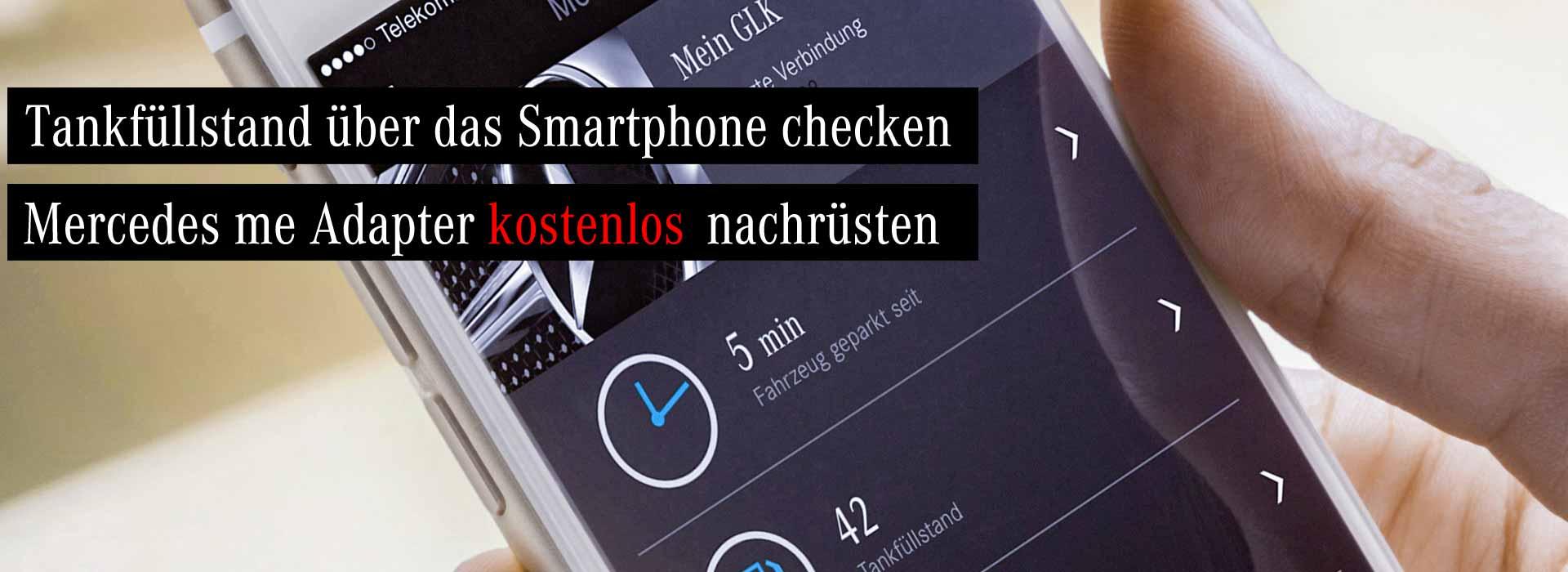 Smartphone für Mercedes me Adapter