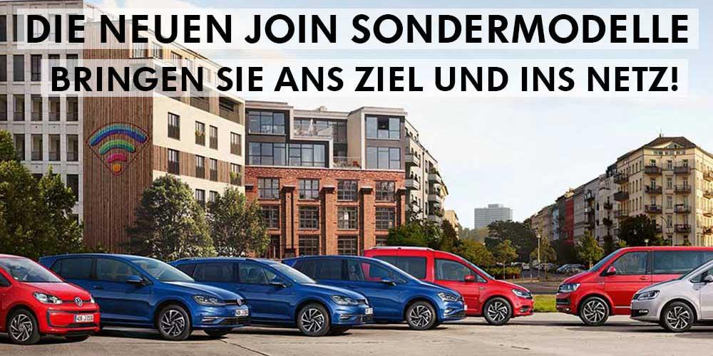 Die JOIN Sondermodelle von Volkswagen