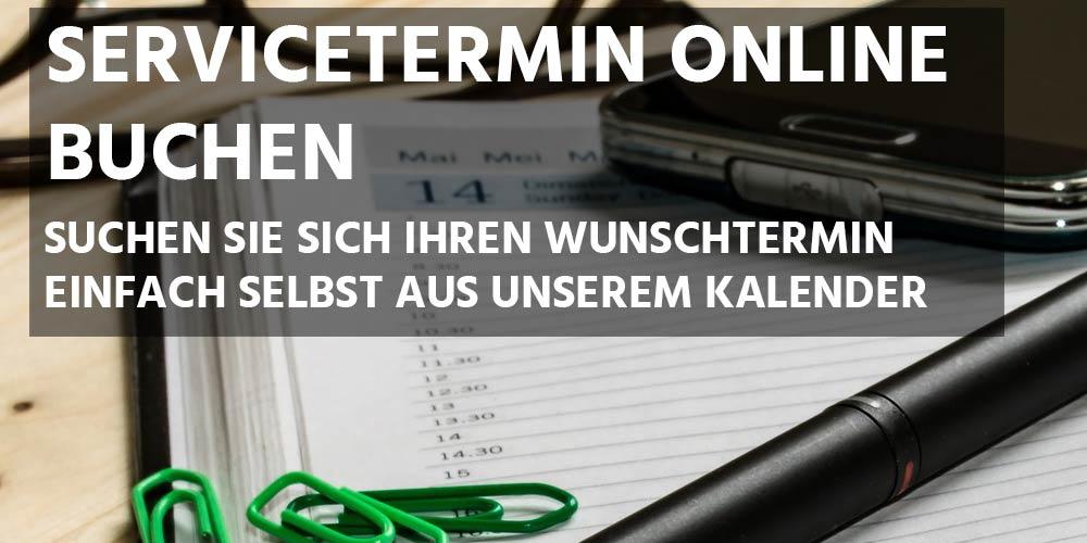 Servicetermin online buchen