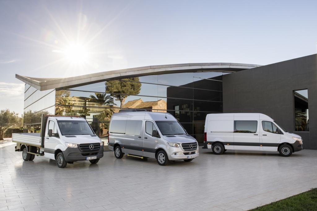 Foto Mercedes-Benz Sprinter – Range