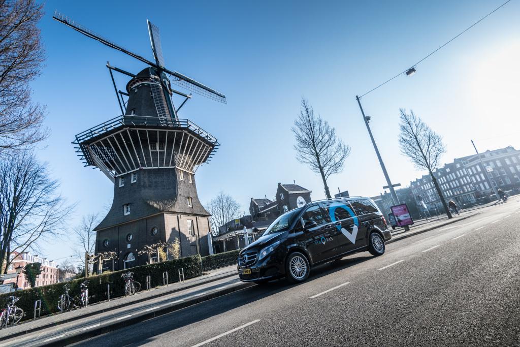 Foto ViaVan startet App-basierten On-Demand Ridesharing-Dienst in Amsterdam.