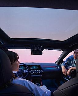 Der Innenraum des Mercedes-Benz EQA