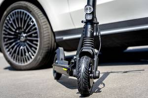 Foto Mercedes E-Scooter