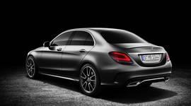 Mercedes-Benz C-Klasse -Heckansicht
