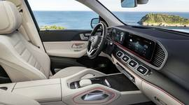 Mercedes-Benz GLS - das luxuriöse Cockpit