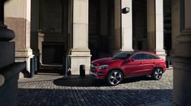 Mercedes-Benz GLE Coupé in der Stadt