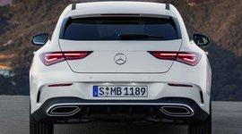 Mercedes Benz CLA Shooting Brake - Heckansicht