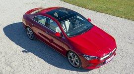 Mercedes Benz CLA Coupe - von oben