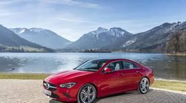 Mercedes Benz CLA Coupe - Seitenansicht