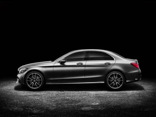 Mercedes-Benz C-Klasse in der Seitenansicht