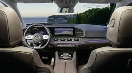 Mercedes-Benz GLS - Ansicht der Armaturen