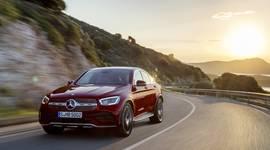 Mercedes-Benz GLC Coupe auf der Straße