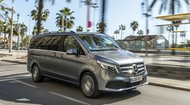 Mercedes-Benz V-Klasse: Unterwegs unter Palmen