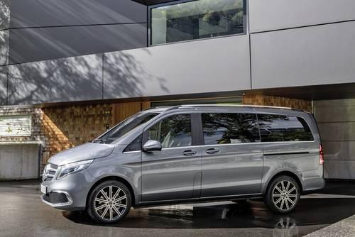 Mercedes-Benz - V-Klasse Seitenansicht