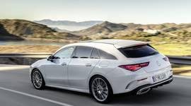 Mercedes Benz CLA Shooting Brake - Seitenansicht