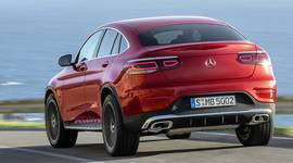 Mercedes-Benz GLC Coupe Heckansicht