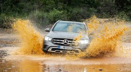 Mercedes-Benz GLC SUV unaufhaltsam