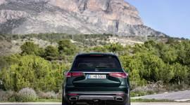 Mercedes-Benz GLS - Heckansicht