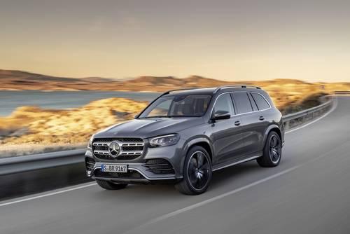 Mercedes-Benz - Frontansicht des GLS