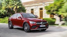 Mercedes-Benz GLC Coupe Seitenansicht