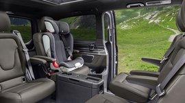 Hintere Sitze der Mercedes-Benz V-Klasse