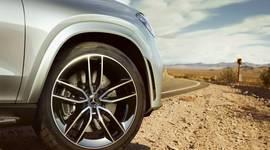 Felgen des Mercedes-Benz GLE