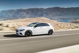 Mercedes-Benz A fahrend
