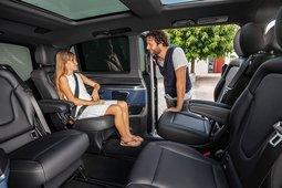 Mercedes-Benz EQV - Innenraumansicht