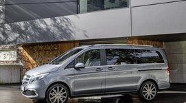 Mercedes-Benz V-Klasse: Seitenansicht