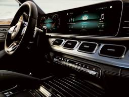 Mercedes-Benz GLE - Lenrad und Armatur