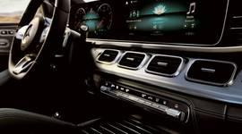 Amaturen des Mecedes-Benz GLE