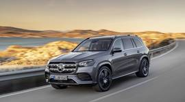 Mercedes-Benz GLS - in voller Fahrt!