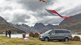 Mercedes-Benz V-Klasse - Drachen steigen lassen