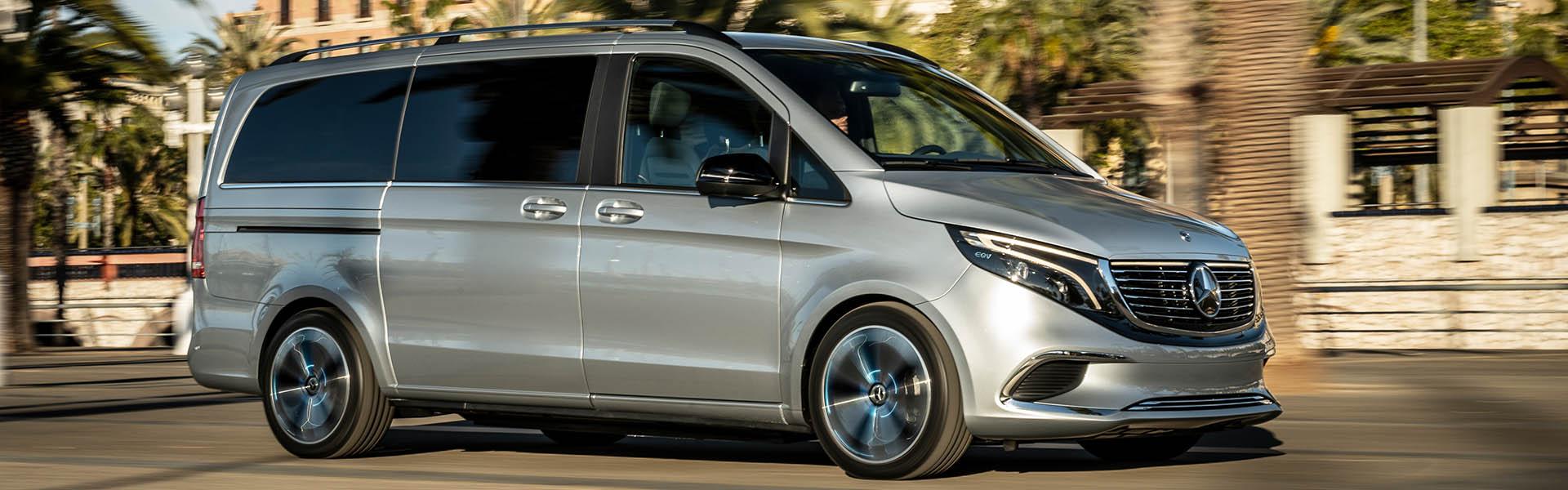 Der Mercedes-Benz EQV