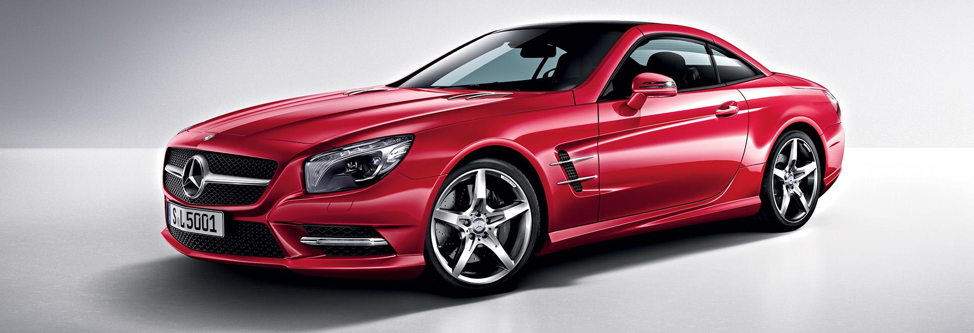 Titelbild Mercedes Benz SL