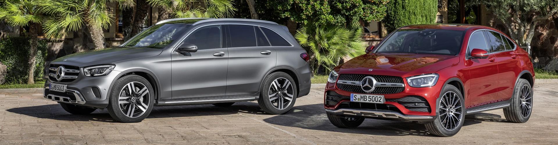 Mercedes-Benz GLC SUV und Sportcoupe