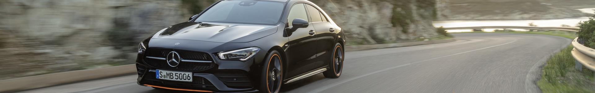 Mercedes-Benz CLA Coupe - auf der Straße